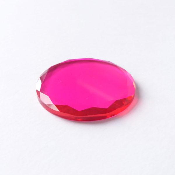 kristal farbig pink