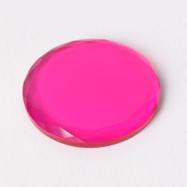 kristal farbig - pink