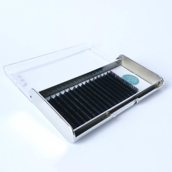 wimpern silber tray open