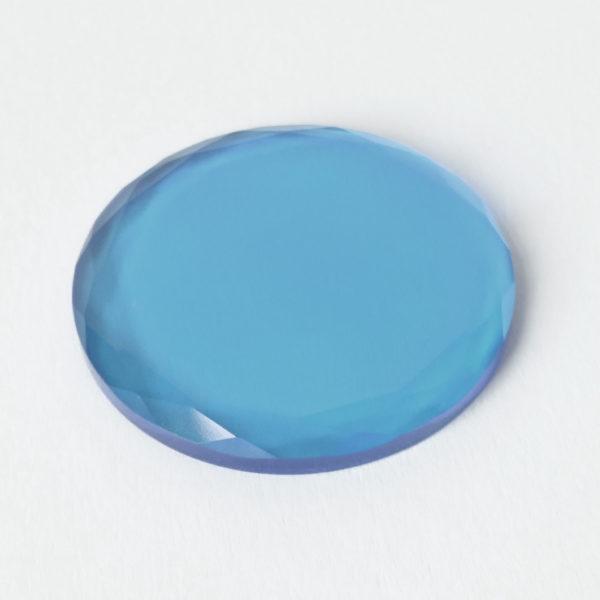 kristal farbig - hellblau