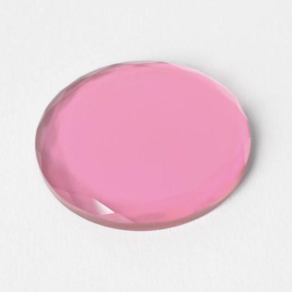 kristal farbig - rosa