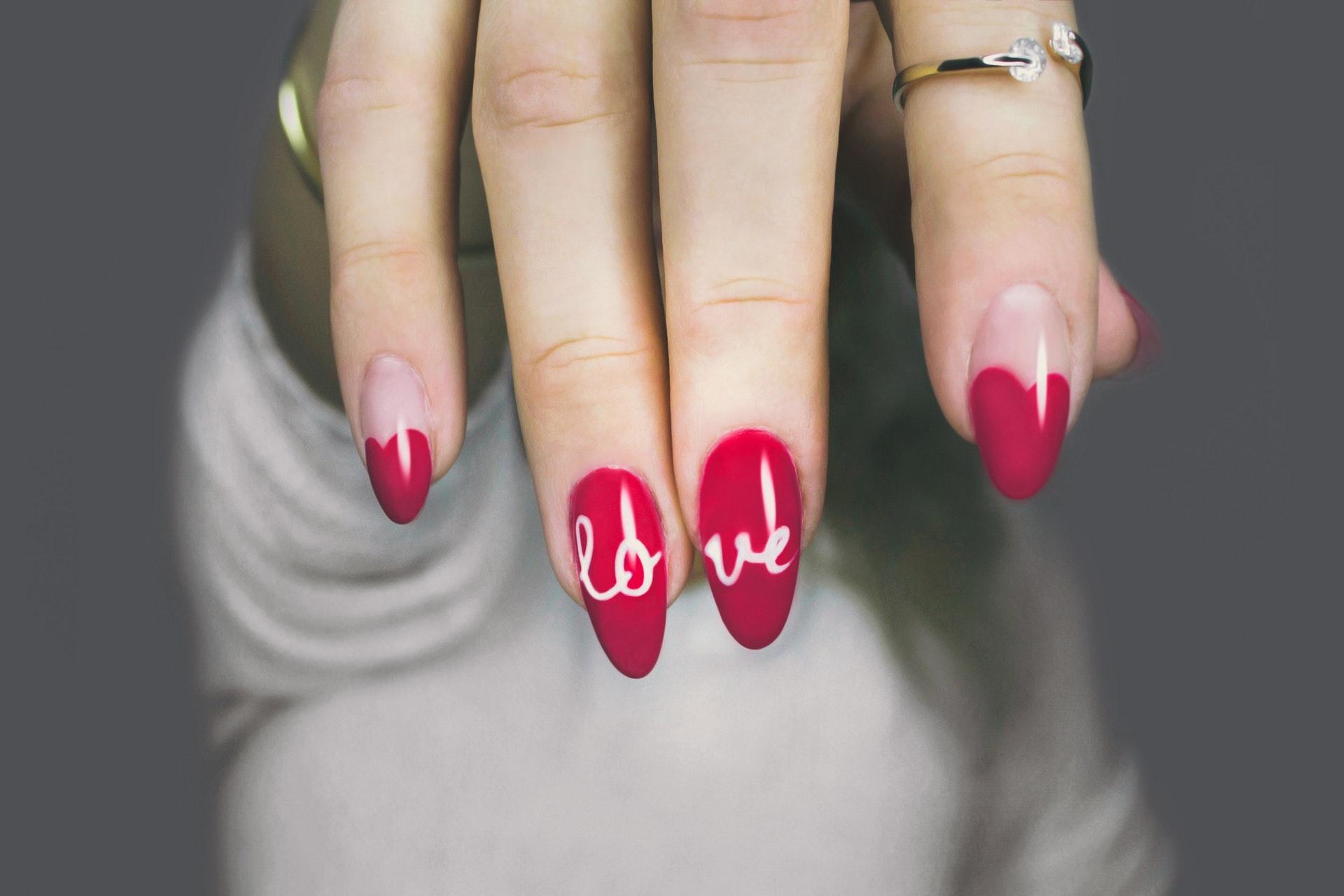 pretty nails manicure love